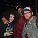 Ghostface showing his love to Real Hood Music,llc., Artists Eyenine and producer/Dj Shupe @ the SXSW Music festival in Austin, Tx  2013